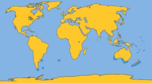 ANDREW'S BEAKED WHALE MAP