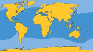 STRIPED DOLPHIN MAP